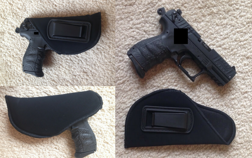 Walther P22 Holster Review: My Experience with 5 Holsters